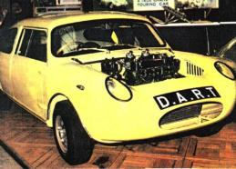 DART at the Racing Car Show